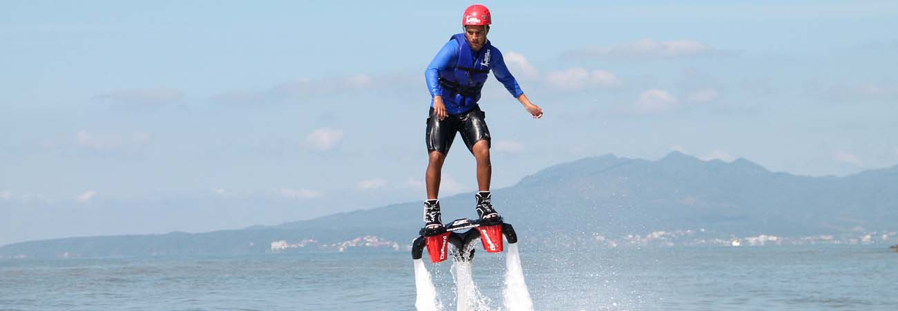 Flyboarding at Grand Velas Riviera Nayarit