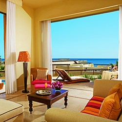 <p>Rooms at Marquis Los Cabos Resort & Spa have been upgraded with new beds, hydro-massage tubs, furnished outdoor terraces and more. // © 2015...