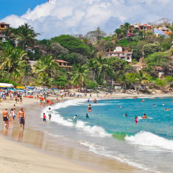Southwest Airlines and Alaska Airlines have new flight routes to Gustavo Diaz Ordaz International Airport (PVR) in Riviera Nayarit. // © 2015...