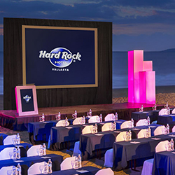The Sanctuary Convention Center will debut at Hard Rock Hotel Vallarta. // © 2015 Hard Rock Hotels