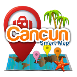The new app allows visitors to access tourism materials without connecting to the Internet. // © 2016 Cancun Convention & Visitors Bureau