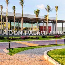 Moon Palace Arena's convention center has been transformed. // © 2016 Palace Resorts