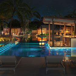 Unico Hotel Riviera Maya, the first property to debut from Unico Hotels, will feature a VIP pool. // © 2016 Unico Hotel Riviera Maya
