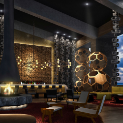 The new Paradisus Los Cabos will feature three bars, including Avenue Bar. // © 2016 Paradisus Resorts