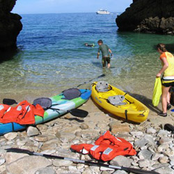 Kayaking in the Sea of Cortez © // 2014 Panterra Eco Expeditions