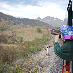 Guests can take a scenic train ride through Mexico's Copper Canyon on this weeklong trip. // © 2017 iStock