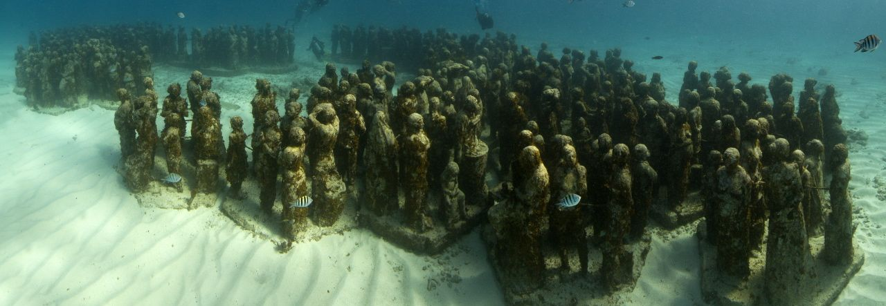 Cancun Underwater Museum Opens A Visitors Center