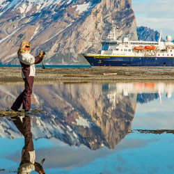 <p>Lindblad Expeditions takes travelers through the beauty of the Artic. // © 2014 Lindblad Expeditions</p><p>Feature image (above):  A unique luxury...