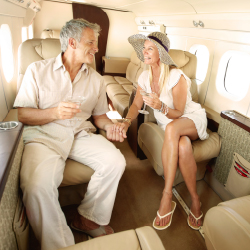 Travel agents have a great opportunity to upsell certain clients with private air. // © 2015 iStock