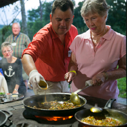 <p>Collette's home-hosted meals help tourists experience a destination firsthand. // © 2015 Collette</p><p>Feature image (above): Today's travelers...