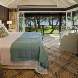 <p>A Guest Bure Suite at Dolphin Island // © 2016 Dolphin Island</p><p>Feature image (above): A stay at a private island resort feels like a personal...