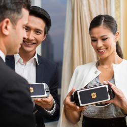 <p>Shangri-La was one of the first hotel groups to incorporate VR into worldwide hotel sales efforts. // © 2016 Shangri-La Hotels and...