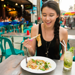 <p>Thailand is known for its affordable cuisine. // © 2017 iStock</p><p>Feature image (above): Shared meals provide an intergenerational bridge for...