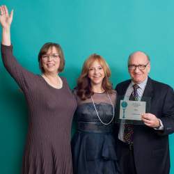 <p>Theresa Mazich, Vicki Freed and Neil R. Bauman // © 2017 Volker Corell</p><p>Feature image (above): This year's Trendsetter winners and runners-up...