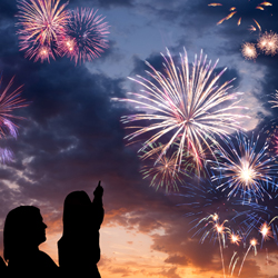 Americans abroad can still celebrate Independence Day if they know where to look. // © Shutterstock
