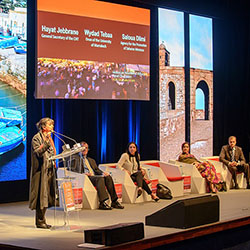 <p>At the ASTA Destination Expo, a panel discussion featured Moroccan women of influence. // © 2015 ASTA</p><p>Feature image (above): Almost 300...