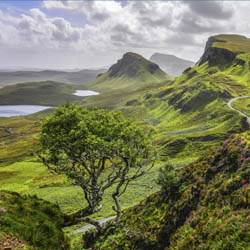 The Isle of Skye and Maui (above) are among the most beautiful and memorable islands in the world. // © 2014 Thinkstock