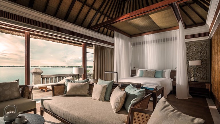 Those looking for tranquility and ample amenities will love the new 14,000-square-foot Imperial Villa at Four Seasons Resort Bali at Jimbaran Bay.