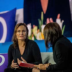 <p>Gillian Tans, president and CEO of Booking.com, took the stage at The Phocuswright Conference last year. // © 2017 Phocuswright</p><p>Feature image...