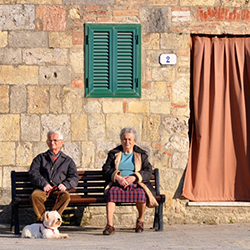 <p>Laurel Leidner of Picture Yourself Traveling placed third with this photo of a charming scene in Monteriggioni, Italy. // © 2015 Laurel...