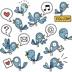 Participating in Twitter chats can grow your network of industry contacts and support your personal brand. // © 2015 Thinkstock