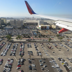 <p>Los Angeles International Airport is the biggest U.S. airport to allow UberX transfers. // © 2016 Flickr Creative Commons user <a...