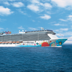 The new ship will be similar to Norwegian Breakaway in design. // © 2013 Norwegian Cruise Line