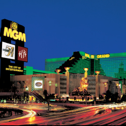The Well-Being Travel Symposium will be held at the MGM Grand in February. // © 2013 MGM Resorts International