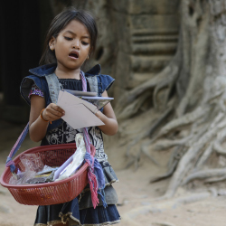UNWTO and WV will work together to combat child exploitation. // © 2014 Thinkstock