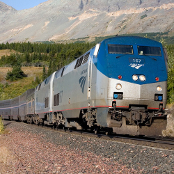 New rail journeys from Amtrak Vacations will be available in 2015. // © 2014 Amtrak Vacations