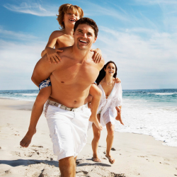 Family trips account for one-third of leisure travel. // © 2014 Thinkstock