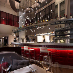 Virgin Hotels Chicago offers a diner, a social club, a coffee and wine bar and more. // © 2015 Virgin Hotels