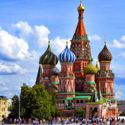 Airlines are eliminating flights to and from cities in Russia. // © 2015 Thinkstock