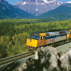 Amtrak Vacations is now working with VIA Rail. // © 2015 VIA Rail Canada