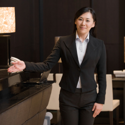 There is a new certification for concierges. // © 2015 IStock