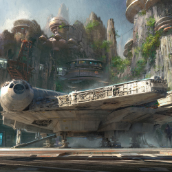 Disney announced a new Star Wars-themed land. // © 2015 Disney