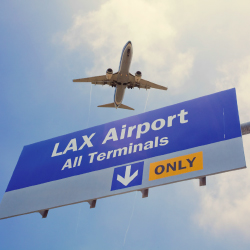 Spirit Airlines is adding routes to and from LAX. // © 2015 iStock