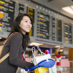 Travelers are increasingly satisfied with their airport experiences. // © 2016 iStock