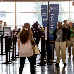 Fliers on Lufthansa can now receive the benefits of TSA PreCheck. // © 2016 iStock