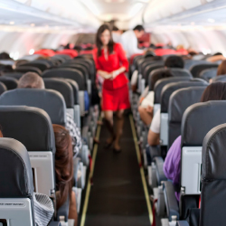 The SEAT Act could regulate seat sizes onboard aircraft. // © 2017 iStock