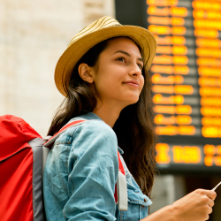 A new study shows that people feel safer traveling now than they did a few months ago. // © 2017 iStock