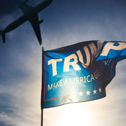President Trump's policies could affect international travel. // © 2017 iStock