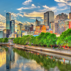 Travelers to Melbourne will have a new flight option. // © 2017 iStock