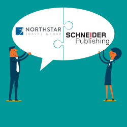 Northstar and Schneider Publishing are teaming up. // © 2017 Northstar Travel Group; Schneider Publishing