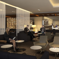 The Star Alliance Lounge at LAX won top honors. // © 2017 Star Alliance