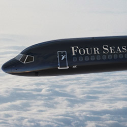 The Four Seasons Jet will take its first flight in February 2015. // © 2014 Four Seasons Jet