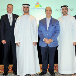 Virtuoso delegates were welcomed by its preferred travel providers and the United Arab Emirates. // © 2014 Virtuoso