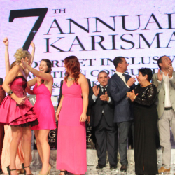 Attendees of the Karisma event celebrate the top performing travel professionals. // © 2015 Karisma Hotels & Resorts
