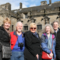 Travel Leaders' members visited popular Scottish sites such as Stirling Castle. // © 2015 Travel Leaders