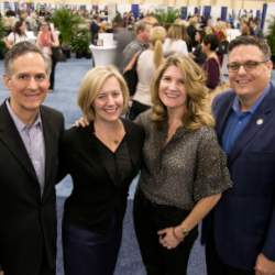 Executives from Signature Travel Network at the event's yearly trade show in Las Vegas // © 2015 Signature Travel Media